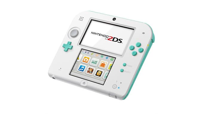 Nintendo 2DS Sea Green Color