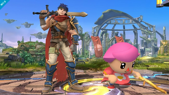 Ike Super Smash Bros