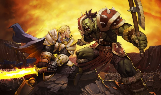 Warcraft_Orcs_vs_Humans