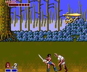 Golden Axe Game Gear