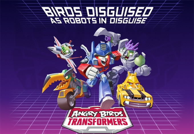 Angry Birds Transformers Interior
