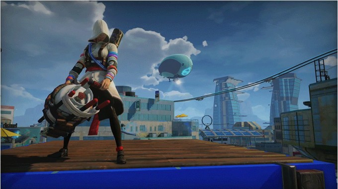Sunset Overdrive se mofa de Assassin's Creed Unity