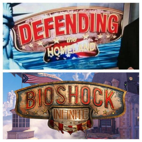 ¿Ha plagiado Fox News el logo de Bioshock Infinite?