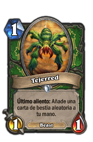 tejered