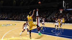 NBA Live gameplay