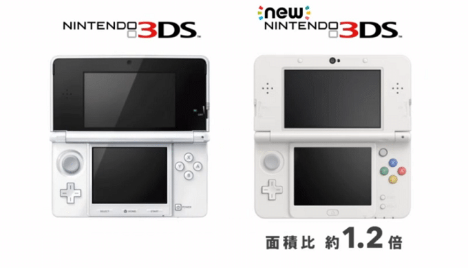 New Nintendo 3DS comparacion