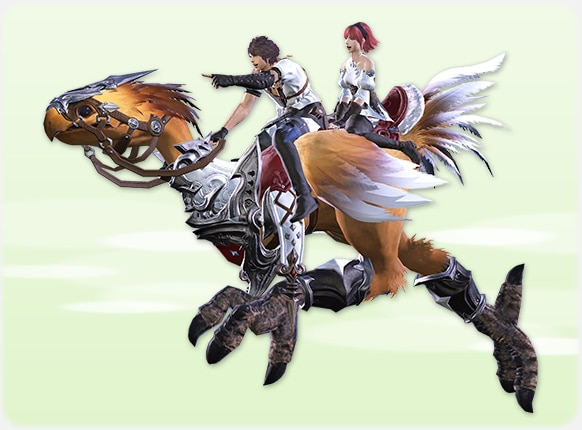 chocobo dos plazas final fantasy xiv