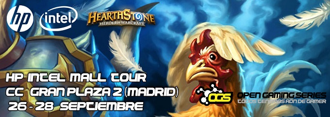 HP Intel Mall Tour Hearthstone Madrid