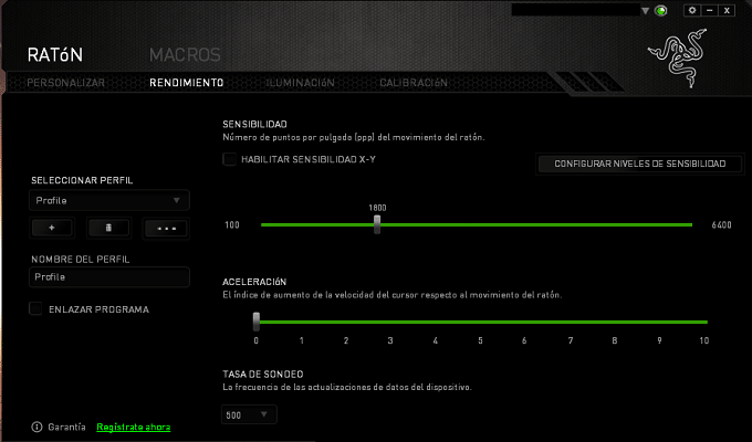 Razer Imperator Software