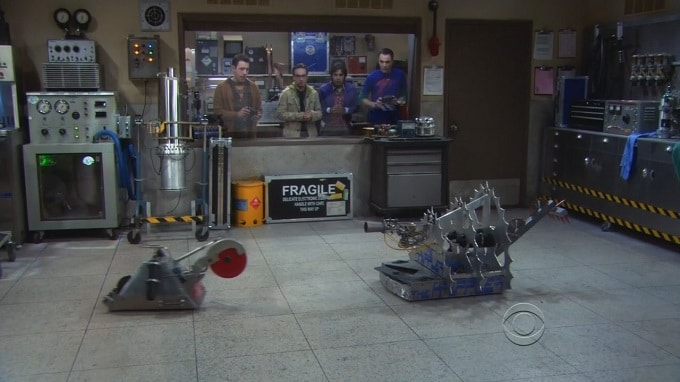 The Big Bang Theory robot
