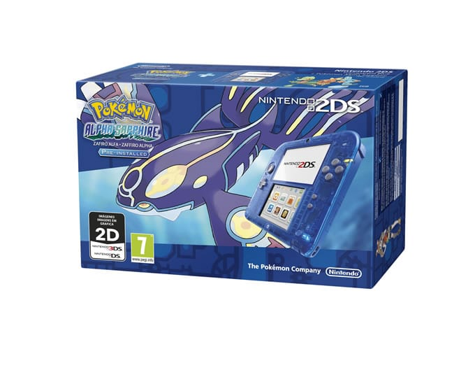pack 2ds azul