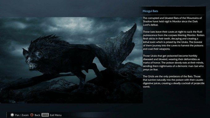 La Tierra media: Sombras de Mordor easter eggs