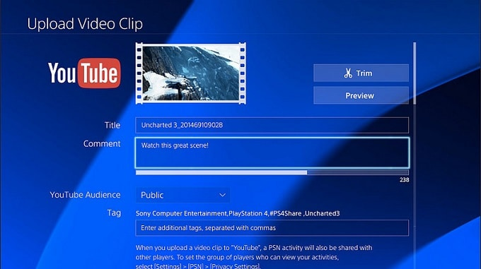 PlayStation 4 YouTube