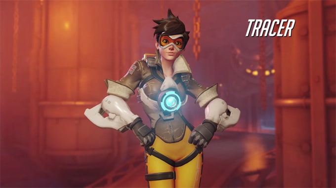Guia personajes Overwatch Tracer