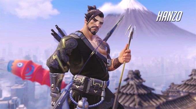 Guía personajes Overwatch Hanzo