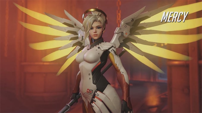 Guía personajes Overwatch Mercy