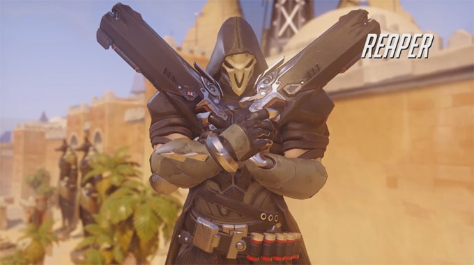 Guia personajes Overwatch Reaper