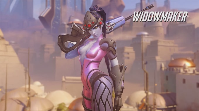 Guia personajes Overwatch Widowmaker