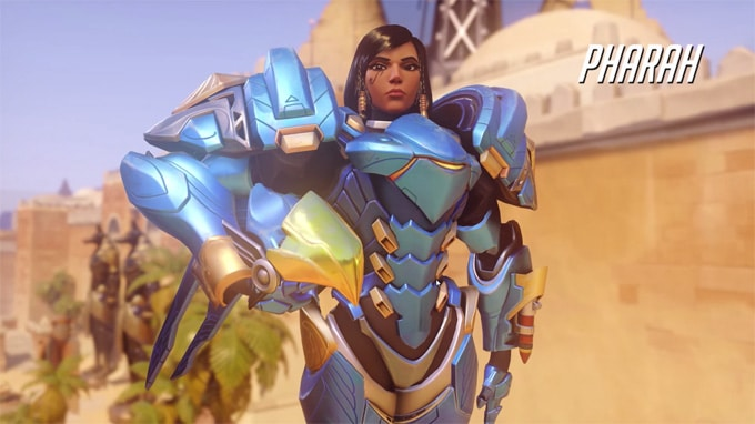 Guía personajes Overwatch Pharah
