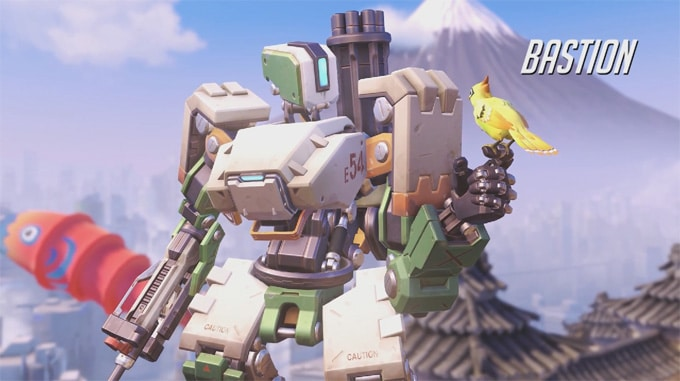 Guía personajes Overwatch Bastion