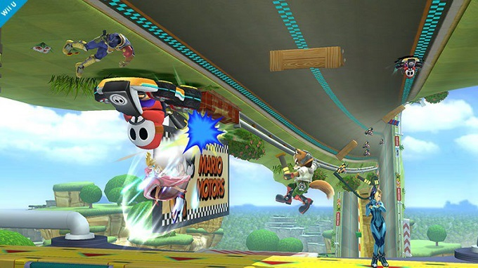Super Smash Bros Mario Kart