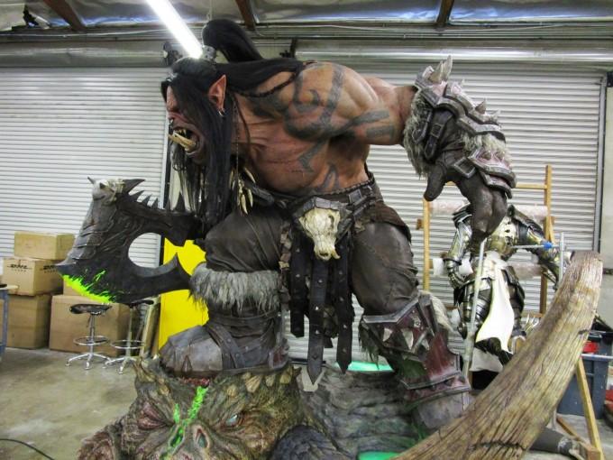Warlords of Draenor Orco estatua