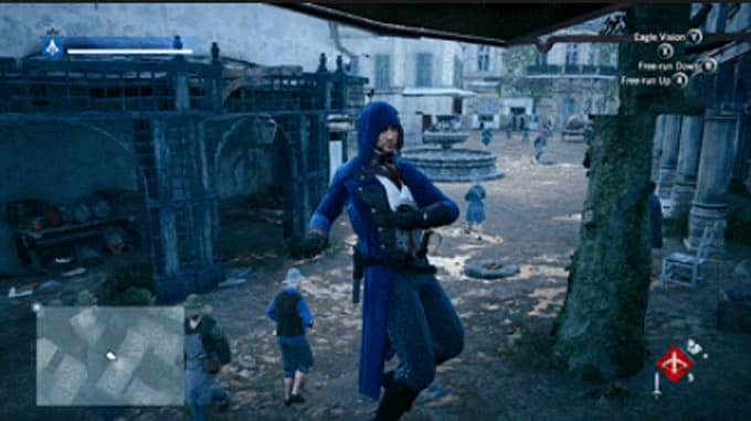 assassin's creed unity bug 3
