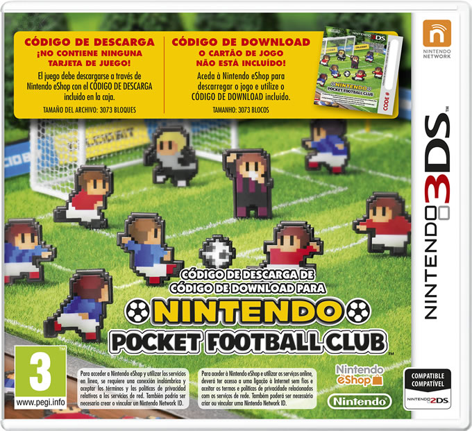 nintendo pocket football club fisico