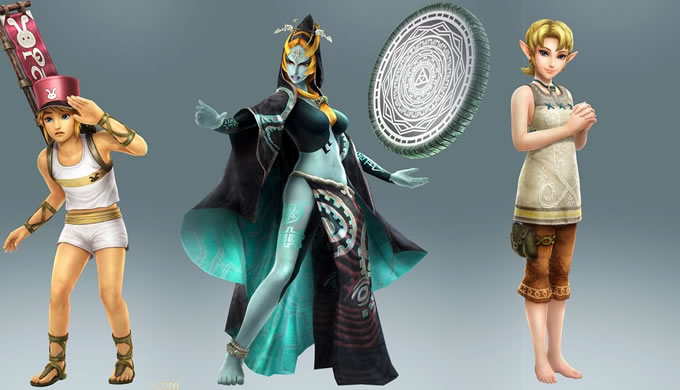 personajes hyrule warriors dlc