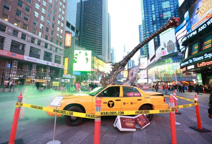 WOW: Warlords of Draenor redecora la Times Square de Nueva York