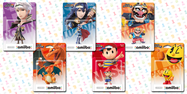 amiibo super smash bros abril