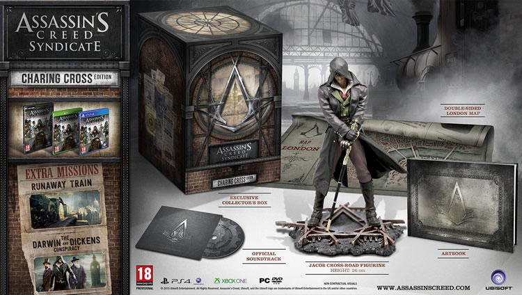 assassin's creed syndicate charing cross collectiors edition