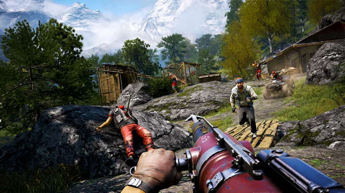 far cry escapa de la prisión de durgesh 2