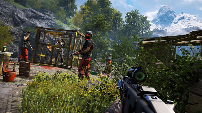 far cry escapa de la prisión de durgesh