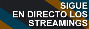 sigue en directo los streamings banner widget