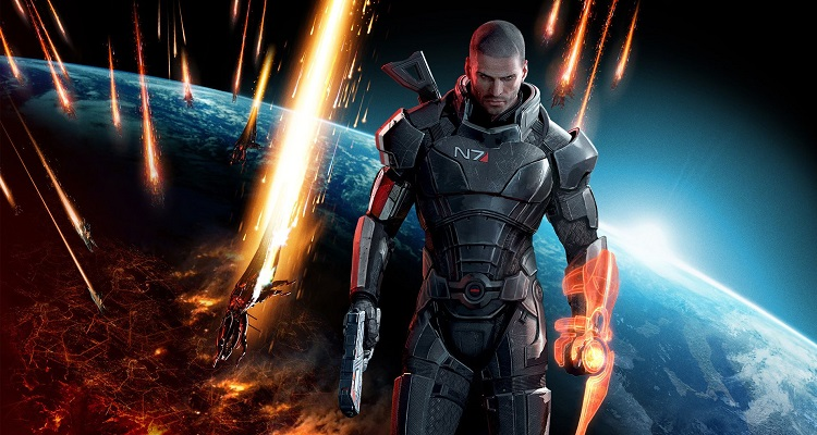 Mass Effect 3 Shepard destacada