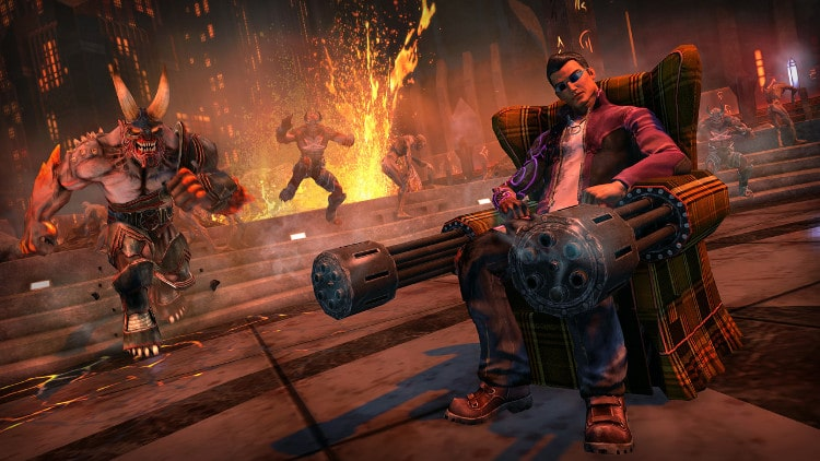 SAINTS ROW IV: RE-ELECTED Y GAT OUT OF HELL – ANÁLISIS PLAYSTATION 4