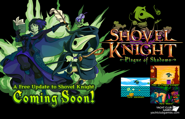Plague of Shadows es el nuevo DLC de Shovel Knight