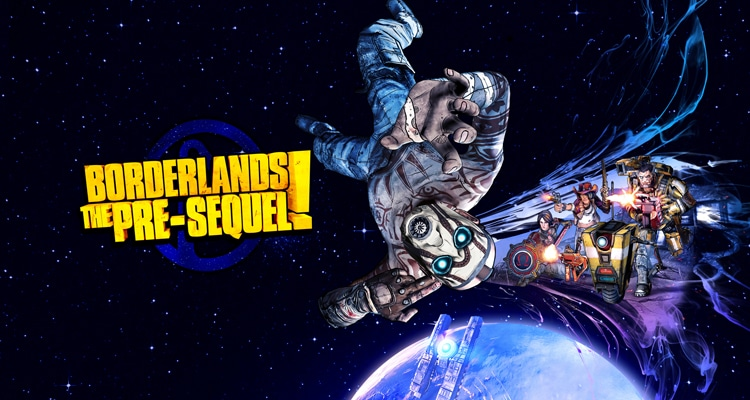 Imagen promocioanl de Borderlands: The Pre-Sequel, de 2K Games.