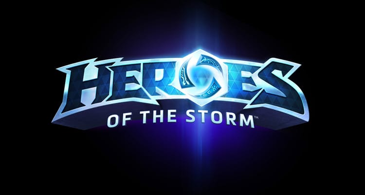 Logo de Heroes of the Storm, el MOBA de Blizzard.