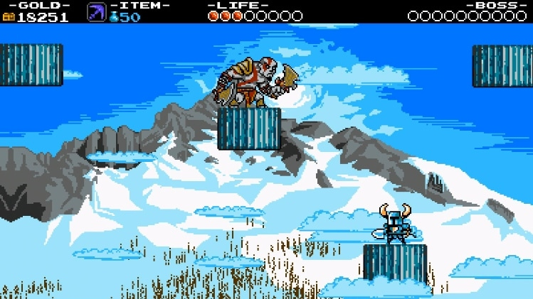 Shovel Knight: Guía para encontrar a Kratos