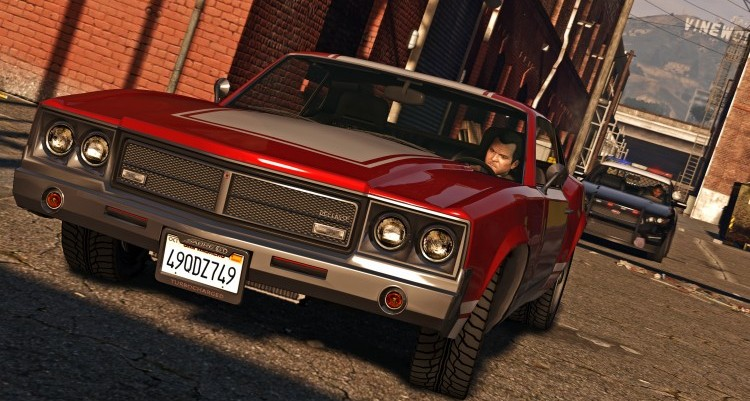 GTA V a 4K se ve espectacular