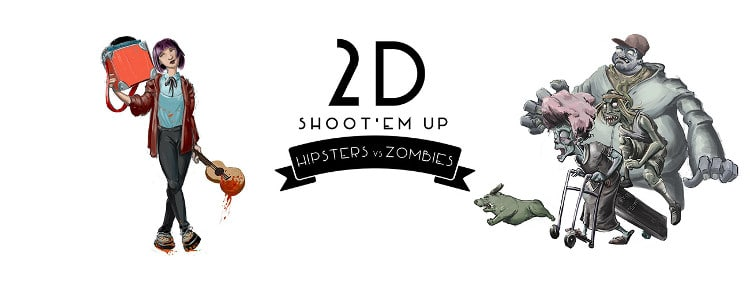Hipsters vs Zombies busca financiación en Kickstarter