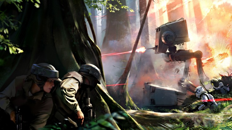 Star Wars: Battlefront no será tan destructivo como Battlefield