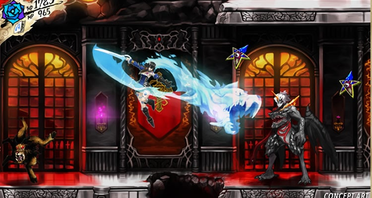 Bloodstained: Ritual of the Knight triunfa en Kickstarter pero ya estaba financiado al 90%