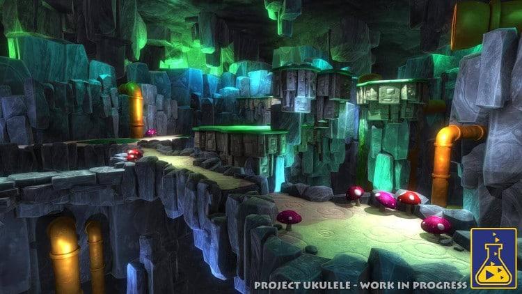 Playtonic Games habla sobre los niveles de Yooka-Laylee