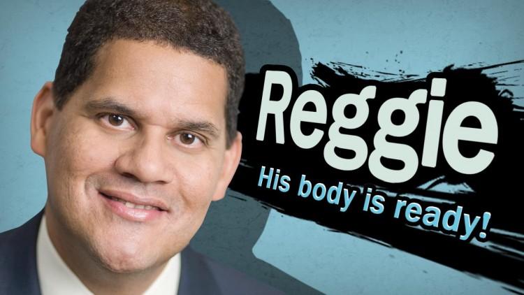 Body-Ready Reggie Wii U