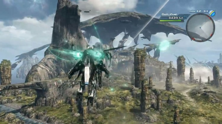 Nuevo gameplay de Xenoblade Chronicles X