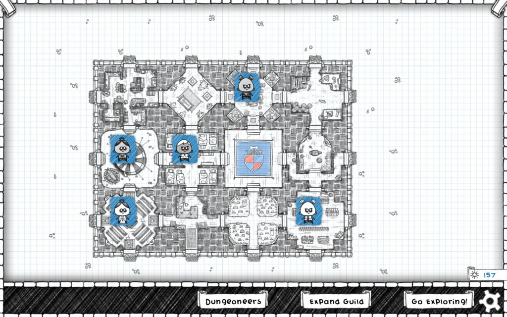 Guild Of Dungeoneering - Análisis PC