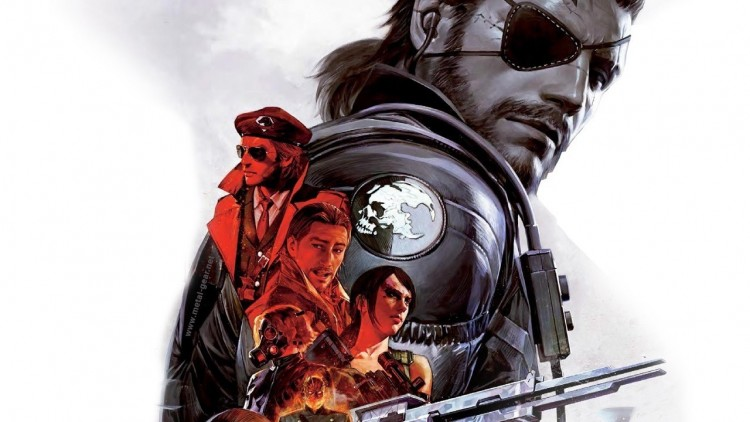 metal gear solid v art